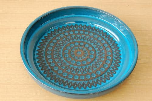 Upsala Ekeby/ウプサラエクビィ/Mari Simmulsonデザイン/陶器の大皿の商品写真