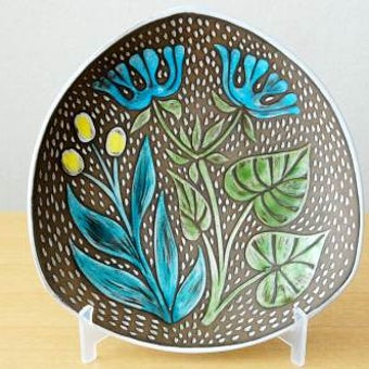 Upsala Ekeby/ウプサラ・エクビイ/Mari Simmulson デザイン/絵皿(深皿)の商品写真