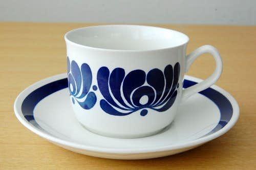 ノルウェー/EGERSUND/コーヒカップ&ソーサーの商品写真
