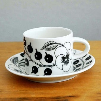ARABIA/アラビア/PARATIISI/パラティッシBK/コーヒーカップ&ソーサーの商品写真