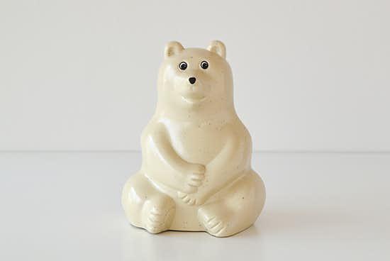 【8月上旬入荷予定】白くま貯金箱/フィンランド/Polar Bear Money BOXの商品写真