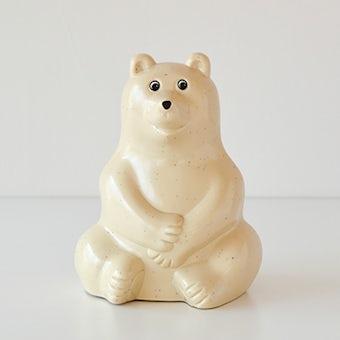 白くま貯金箱/フィンランド/Polar Bear Money BOXの商品写真