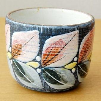 スウェーデン製/LAHOLM/絵付けが美しい植木鉢カバーの商品写真