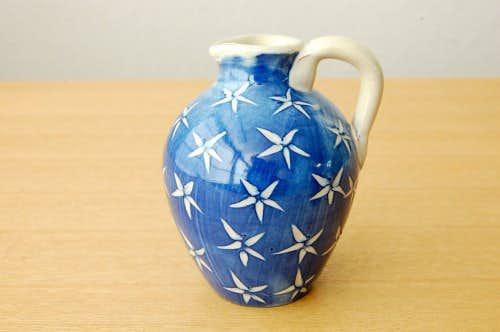 Upsala Ekeby/ウプサラエクビィ/陶器の一輪挿し(ブルー)の商品写真