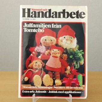 スウェーデンで見つけた古い本(クリスマス小物や洋服の作り方)の商品写真