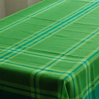 スウェーデン/Almedahlsヴィンテージ/テーブルクロス(グリーン)の商品写真