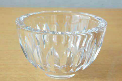 スウェーデンで見つけたガラスのボウル(クリア)の商品写真