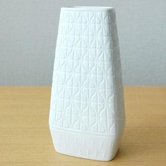 RORSTRAND/ロールストランド/DOMINO/陶器の花瓶(ホワイト)の商品写真