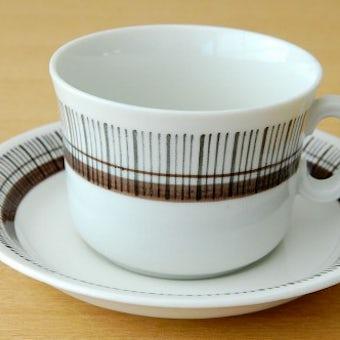 GEFLE(Upsala Ekeby)ウプサラエクビィ/SPARTA/カップ&ソーサーの商品写真