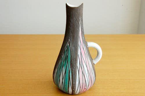Upsala Ekeby/ウプサラエクビィ/Mari Simmulson/陶器の一輪差しの商品写真
