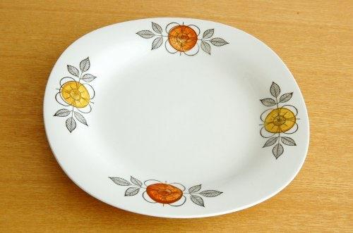 Rorstrand/ロールストランド/レトロなお花模様のデザートプレート(18cm)の商品写真