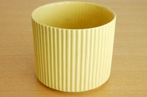 ARABIA/アラビア/陶器の植木鉢カバー(イエロー)の商品写真