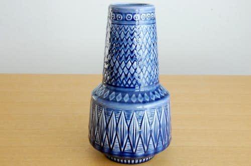 Rorstrand/ロールストランド/陶器の花瓶(パープル)の商品写真