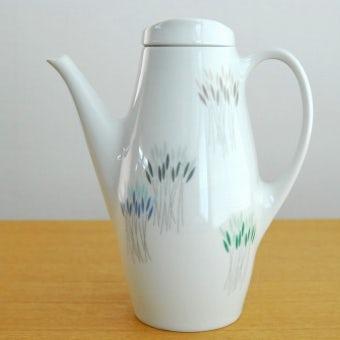デンマークで見つけた陶器のコーヒーポットの商品写真