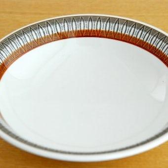 GEFLE(Upsala Ekeby)/ゲフル/LANSETT/ディーププレート(19cm)の商品写真