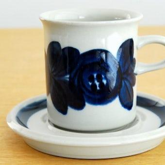 ARABIA/アラビア/ANEMONE/アネモネ/コーヒーカップ&ソーサー(ブルー)の商品写真