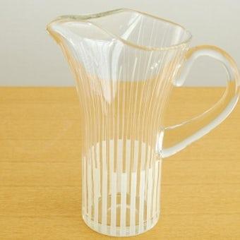 スウェーデンで見つけたガラスのピッチャーの商品写真