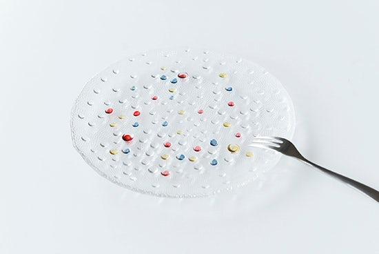 DANSK/ダンスク/バブルコンフェティ/サラダプレートの商品写真