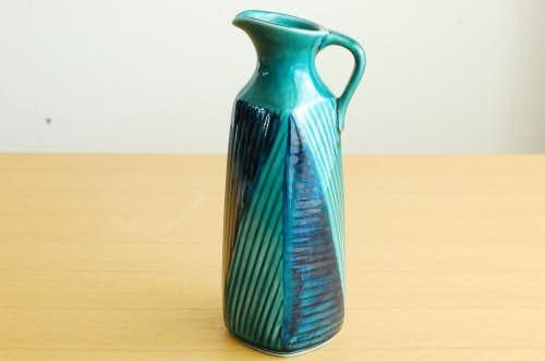 RORSTRAND/ロールストランド/陶器の一輪挿し(ブルー×グリーン)の商品写真