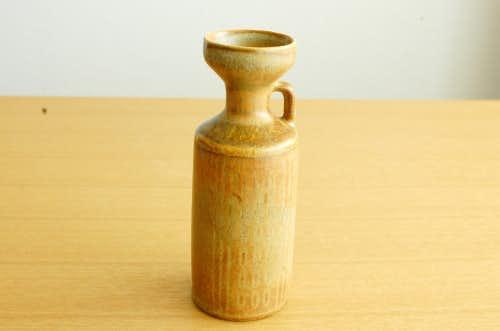 RORSTRAND/ロールストランド/Gunnar Nylund/陶器の一輪挿し(ライトブラウン)の商品写真
