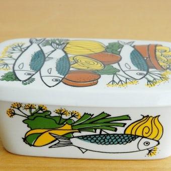 ノルウェー/FIGGJO/フィッギオ/陶器のバターケースの商品写真