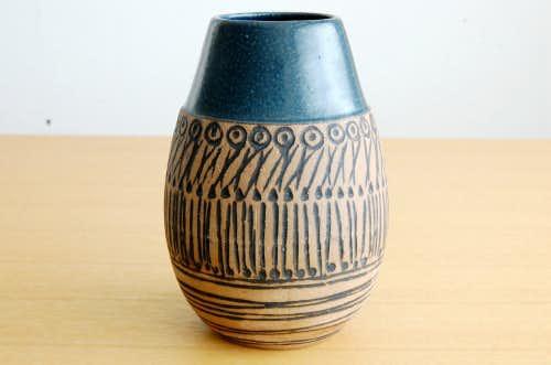 GUSTAVSBERG/グスタフスベリ/ Lisa Larson/陶器の花瓶の商品写真