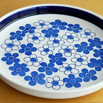 RORSTRAND/ロールストランド/ANEMON/アネモン/サービングプレート(ブルー)の商品写真