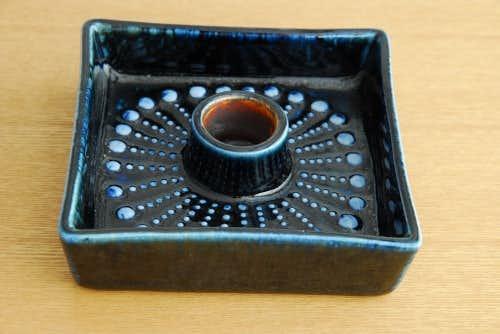 RORSTRAND/ロールストランド/陶器のキャンドルホルダー(スクエア)の商品写真
