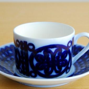GUSTAVSBERG/グスタフスベリ/BLA HUSAR/コーヒーカップ&ソーサーの商品写真