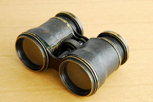 スウェーデンで見つけた古い双眼鏡の商品写真