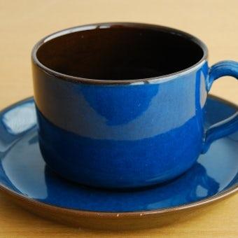 スウェーデン/GABRIEL/ガブリエル釜/コーヒーカップ&ソーサー(少々難あり)の商品写真