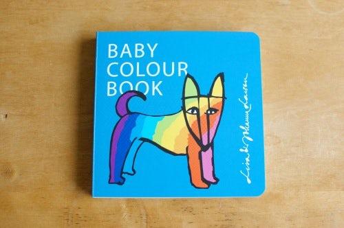 Lisa Larson/リサ・ラーソン/絵本/Baby colour bookの商品写真