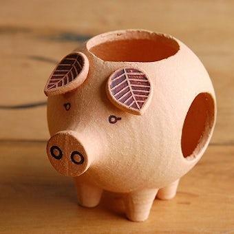 【取扱い終了】Lisa Larson/リサ・ラーソン/キャンドルホルダー/Piggy/ピギーの商品写真