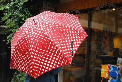 lisbetfriis/リズベットフリース/傘/レッドの商品写真