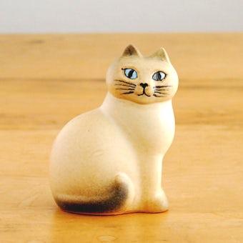 【取扱い終了】Lisa Larson/リサ・ラーソン/オブジェ/Cat Mans(ホワイト)の商品写真