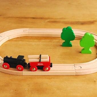【取扱終了】BRIO/ブリオ/おもちゃ/レールウェイシリーズ/小さな森の基本レールセットの商品写真