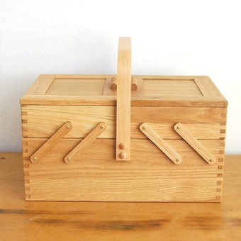 倉敷意匠/ならのソーイングボックス(裁縫箱)の商品写真