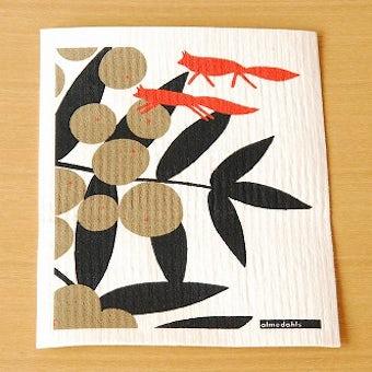 【取扱終了】Almedahls/アルメダールス/スポンジワイプ/フォックス(オレンジ&グレー)の商品写真
