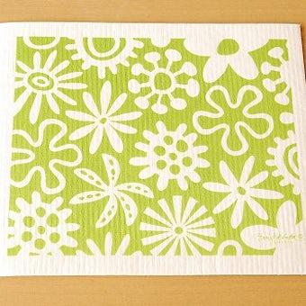 【在庫限り終了】スポンジワイプ/ブルーム/ライトグリーン(大)の商品写真