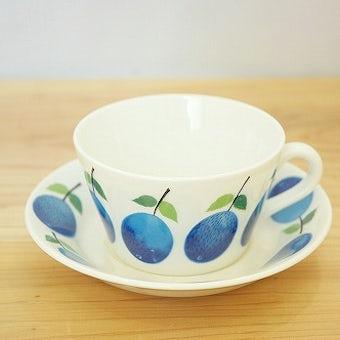 グスタフスベリ プルーヌス GUSTAVSBERG Prunus ティーカップ&ソーサーの商品写真