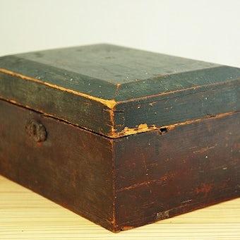 スウェーデンで見つけた古い木箱の商品写真