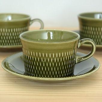 スウェーデンで見つけたカップ&ソーサーの商品写真