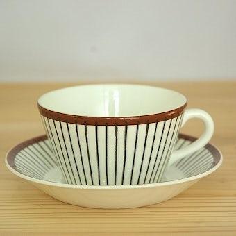 グスタフスベリ スピサ・リブ GUSTAVSBERG  SPISA-RIBB  ティーカップ&ソーサー スティグ・リンドベリの商品写真