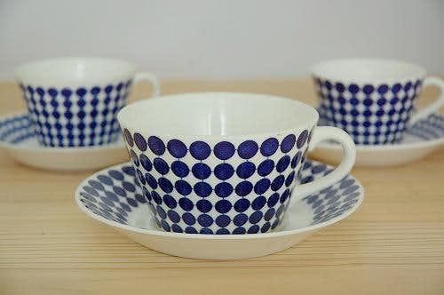 グスタフスベリ アダム GUSTAVSBERG  ADAM  ティーカップ&ソーサー スティグ・リンドベリデザインの商品写真