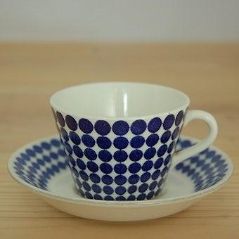 グスタフスベリ アダム GUSTAVSBERG  ADAM  コーヒーカップ&ソーサー スティグ・リンドベリデザインの商品写真