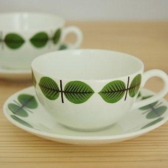 グスタフスベリ ベルサ GUSTAVSBERG  BERSA  コーヒーカップ&ソーサー スティグ・リンドベリデザインの商品写真