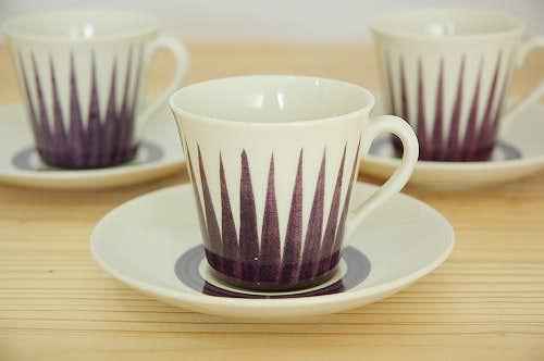 ウプサラエクビイ/アストラ/Upsala Ekeby (Gefle)/ASTRA/コーヒーカップ&ソーサーの商品写真