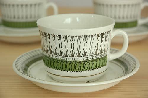 ウプサラエクビイ メキシコ Upsala Ekeby(Gefle) MEXICO ティーカップ&ソーサーの商品写真
