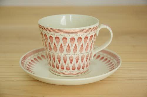 ウプサラ・エクビイ Upsala Ekeby(Gefle) LILLEMOR コーヒーカップ&ソーサーの商品写真