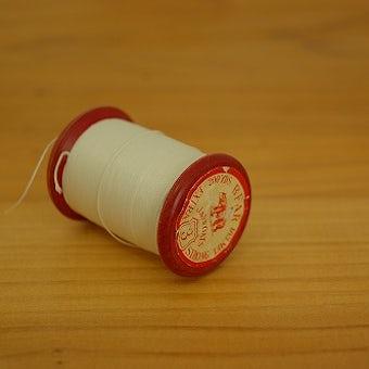 スウェーデンで見つけた糸巻き 白の商品写真